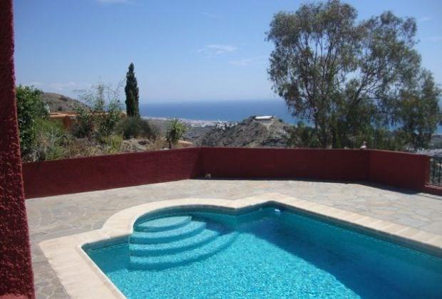 Casa Meridian est une maison de vacances exceptionnelle située dans la région exclusive de La Parata de Mojacar...