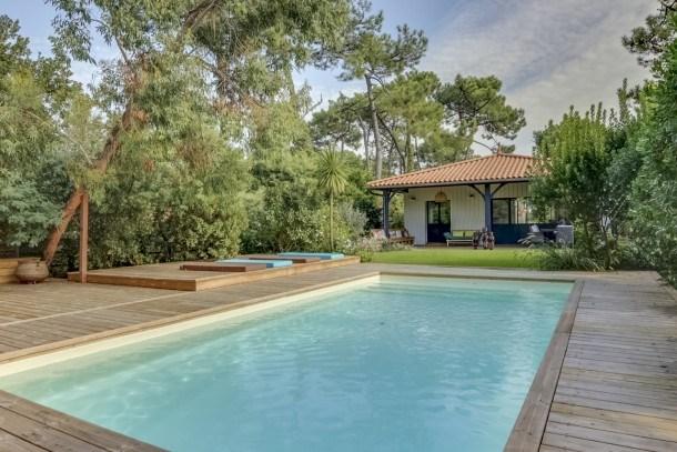 Magnifique villa avec piscine au Cap Ferret