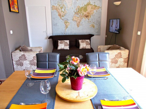 Location vacances Dinard -  Appartement - 4 personnes - Barbecue - Photo N° 1
