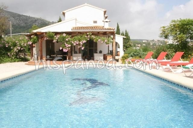 Holiday rentals Calp - House - 10 persons - BBQ - Photo N° 1