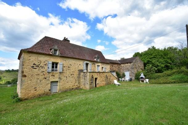 Location vacances Villefranche-du-Périgord -  Maison - 9 personnes - Barbecue - Photo N° 1