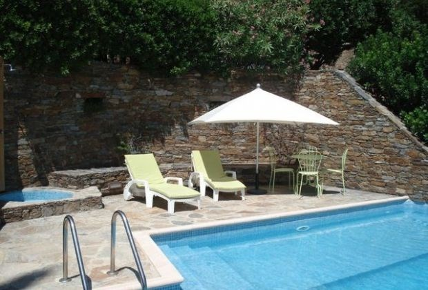 """Les Muriers is a delightful holiday house located in the well-known """"Domaine du Gaou Bénat"""" in Bormes-les-Mimosas..."""