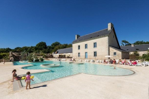 Castel Domaine de L'Orangerie de Lanniron - Mobil home - 3 chambres - 1 salle de bain - Classique