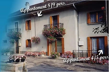 Location vacances Vailly -  Appartement - 8 personnes - Barbecue - Photo N° 1