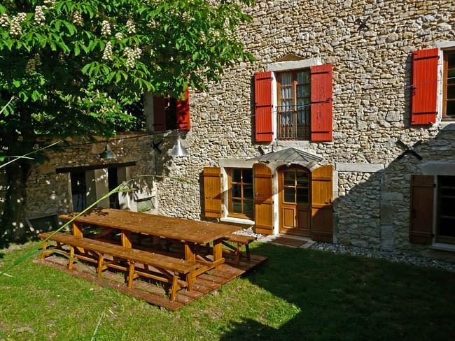 Location maison Drôme provencale l'Estampe