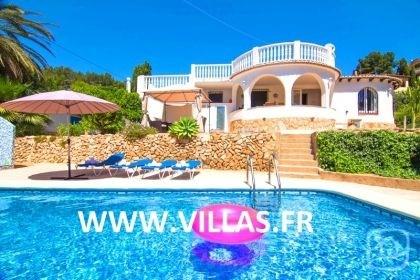 Villa AB Salvi - Charmante villa de vacances avec piscine privée située Calpe et Moraira.