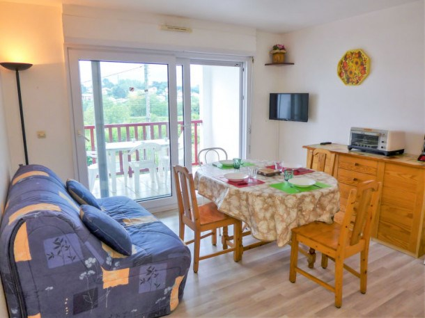 Location vacances Bidart -  Appartement - 4 personnes - Télévision - Photo N° 1