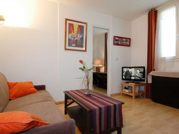 Location vacances Paris 4e Arrondissement -  Appartement - 2 personnes - Télévision - Photo N° 1