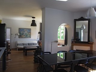 salon-salle à manger- cuisine