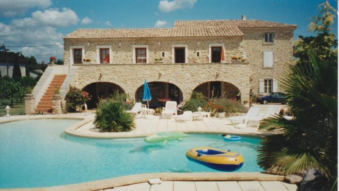 Appartement pour 5 pers. avec piscine, Saint-Julien-de-Peyrolas