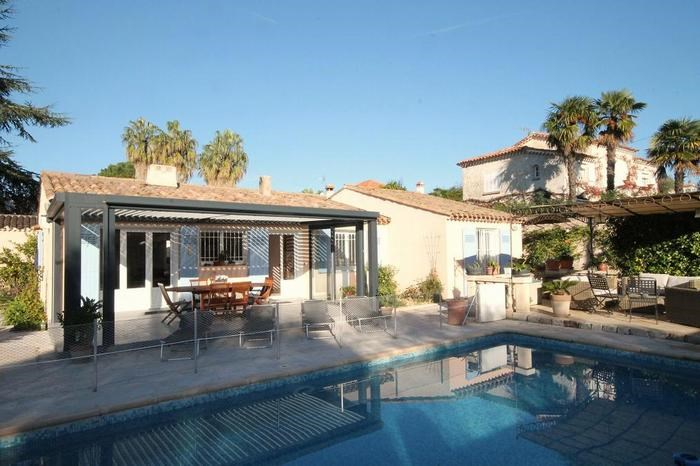 Location vacances Antibes -  Maison - 8 personnes - Barbecue - Photo N° 1