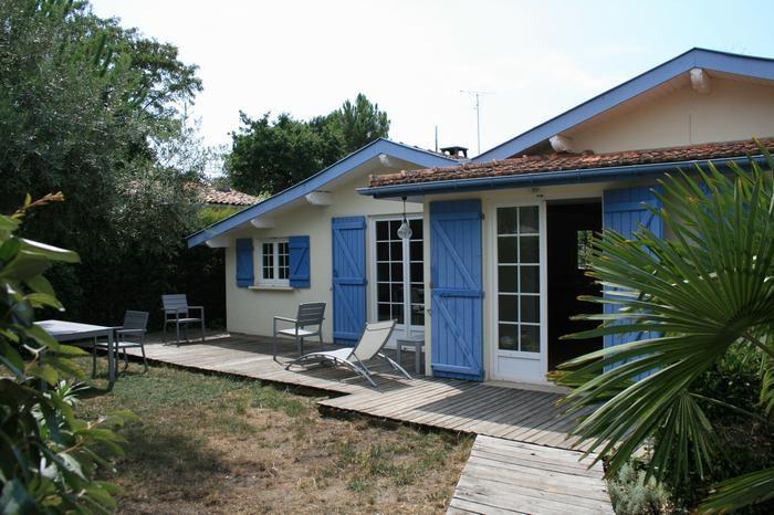 Maison De Vacances A Arcachon En Aquitaine Pour 6 Pers 110m