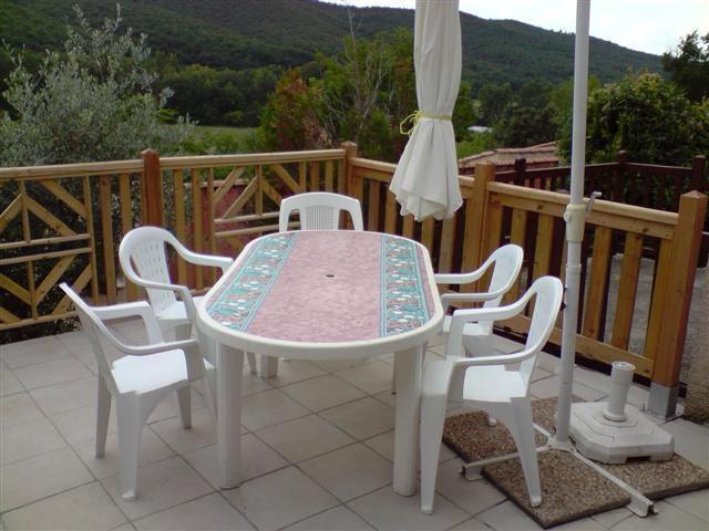 Appartement pour 5 pers. avec piscine, Saint-Martin-de-Brômes
