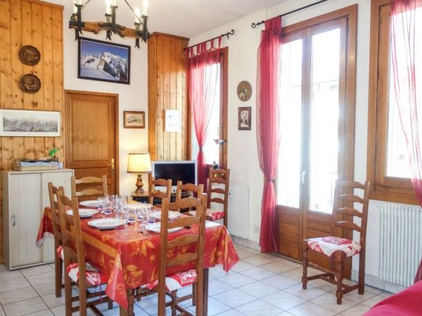 Location vacances Saint-Gervais-les-Bains -  Appartement - 6 personnes - Télévision - Photo N° 1