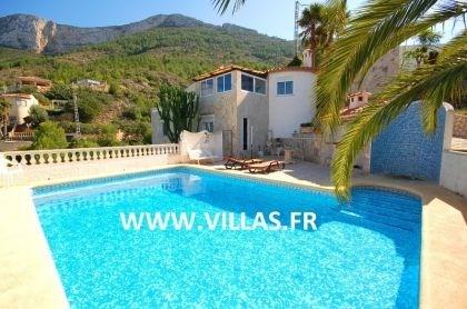 Villa AS Nico - Très belle villa, située à côté du Parc naturel du Montgo avec une magnifique vue...