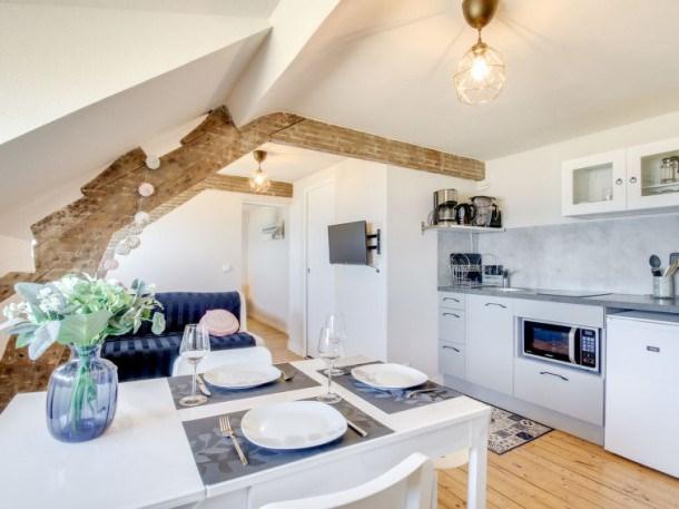 Location vacances Saint-Malo -  Appartement - 3 personnes - Télévision - Photo N° 1