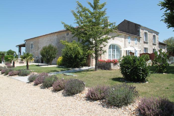 Alquileres de vacaciones Saint-Simon-de-Pellouaille - Cabaña - 8 personas - BBQ - Foto N° 1