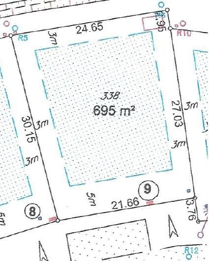 Vente terrain constructible poyanne 695m 45820 for Combien coute un terrain constructible