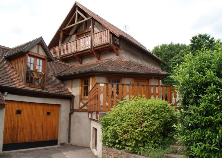 Beautiful House with cachet to rent in Alsace - Steige
