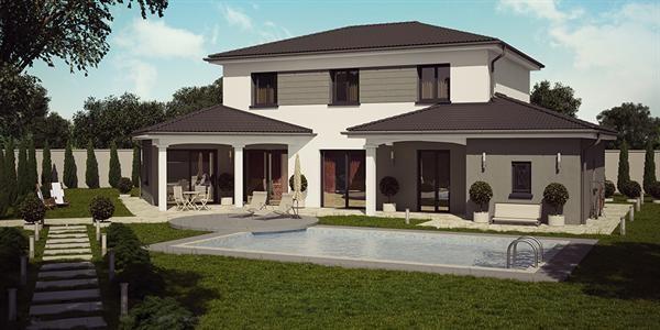 Maison  4 pièces + Terrain 380 m² Amberieux en Dombes par DEMEURES CALADOISES