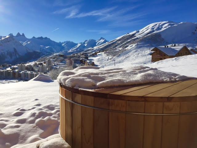 terrasse et bain norvégien