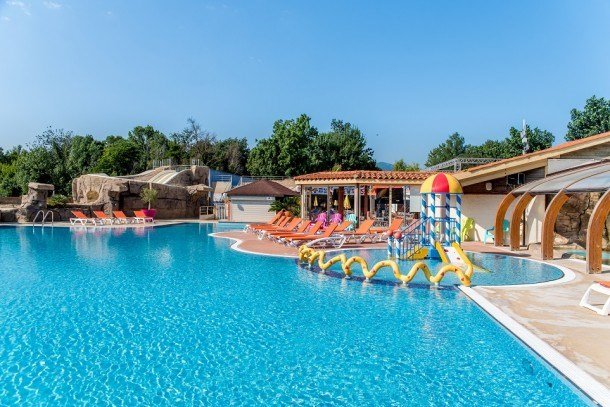 Camping Club Le Littoral 5* - Cottage Tamaris Grand Confort Clim TV - 3 chambres - 6/8 personnes