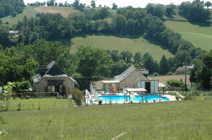 Maison pour 12 pers. avec piscine, Lunac
