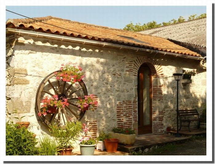 Location vacances Villeneuve-sur-Lot -  Maison - 4 personnes - Barbecue - Photo N° 1