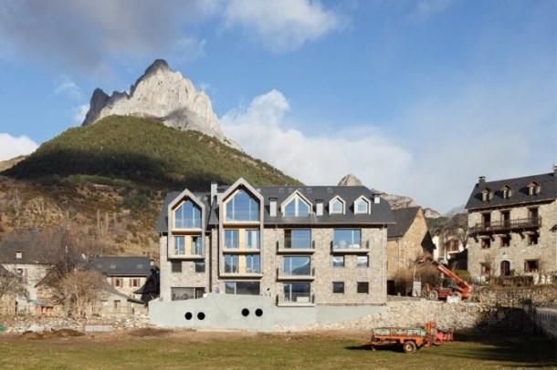 Location vacances Sallent de Gállego -  Appartement - 5 personnes - Télévision - Photo N° 1