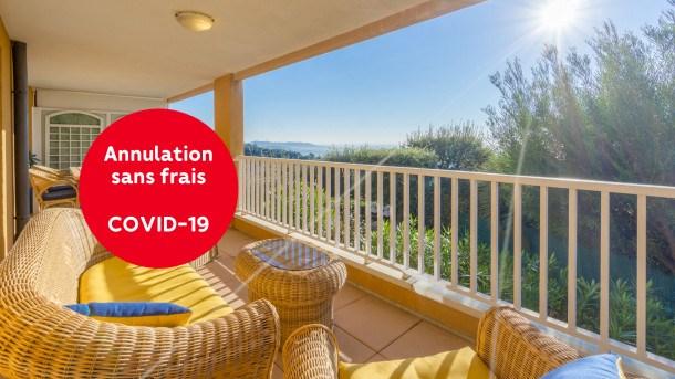 Location vacances Mandelieu-la-Napoule -  Appartement - 4 personnes - Télévision - Photo N° 1