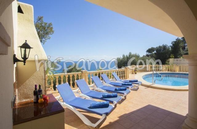 Location d'une belle villa sur la Costa Blanca avec vue mer  cahay6