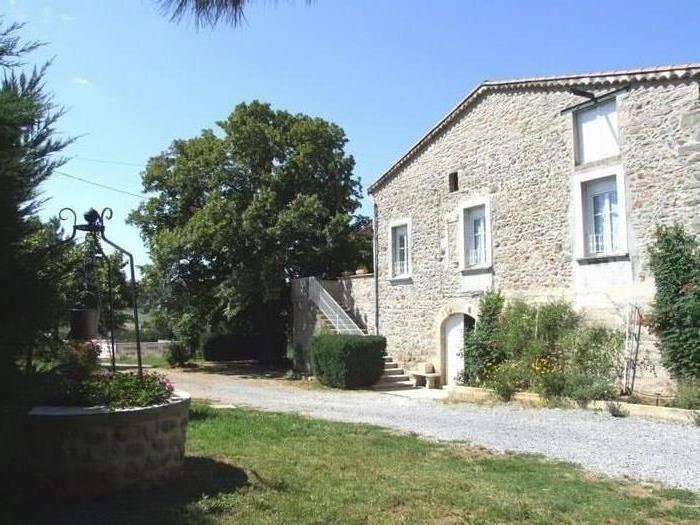 Holiday rentals Laurac-en-Vivarais - Apartment - 4 persons - BBQ - Photo N° 1