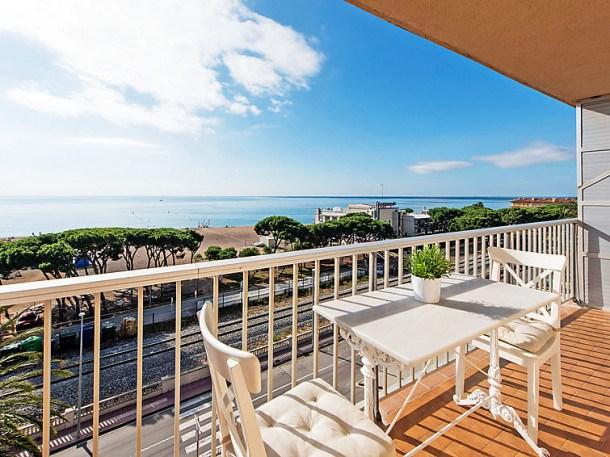 Location vacances Malgrat de Mar -  Appartement - 5 personnes - Lecteur DVD - Photo N° 1