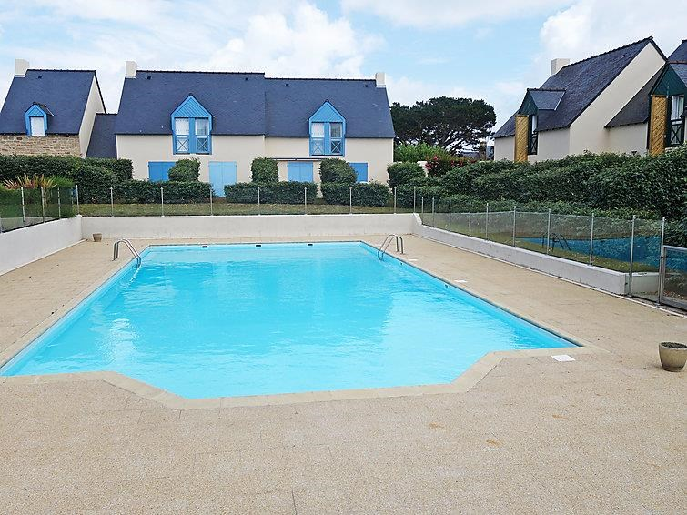 Location vacances Quiberon -  Appartement - 5 personnes - Salon de jardin - Photo N° 1
