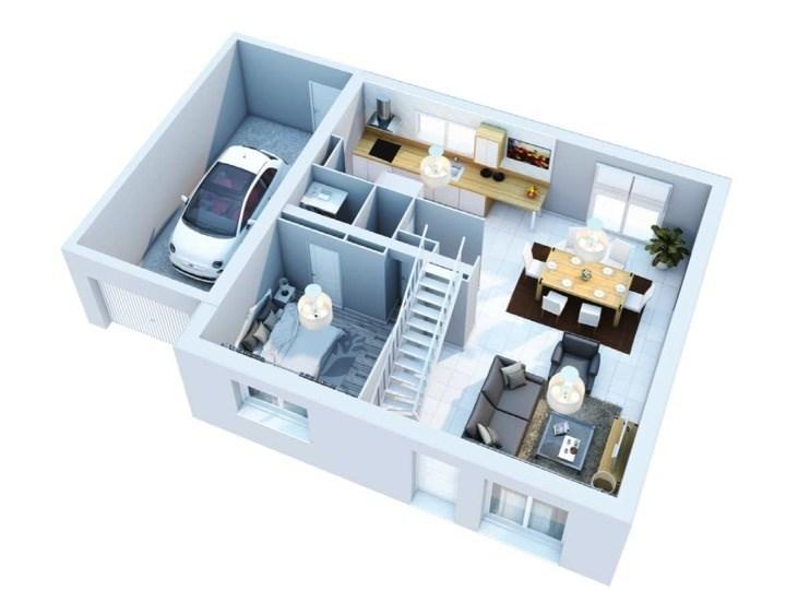 Maison  6 pièces + Terrain Lanrodec par VILLADEALE SAINT BRIEUC