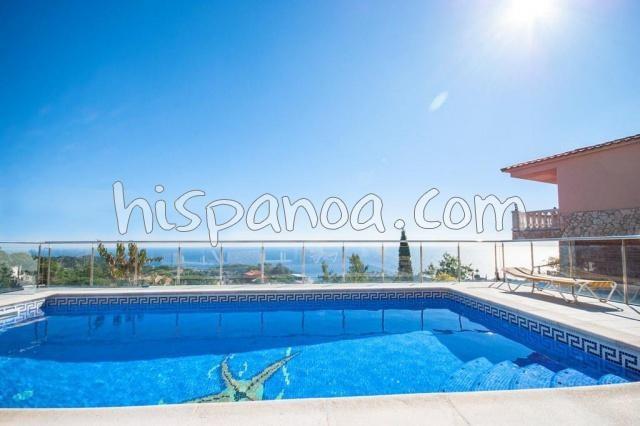 Villa location vue mer Costa Brava - Villa 5 chambres à Lloret de mar |g