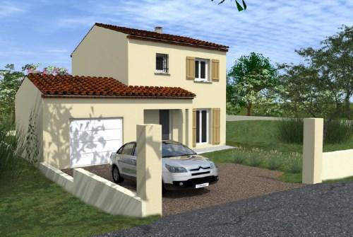 Maison  4 pièces + Terrain 480 m² Forcalqueiret par TRADICONFORT 13