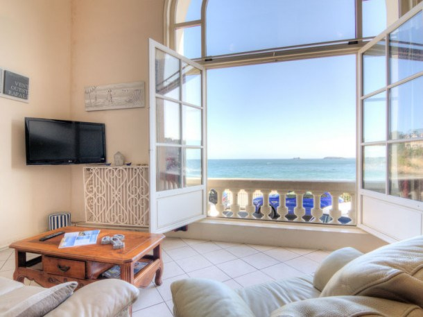 Location vacances Dinard -  Appartement - 8 personnes - Télévision - Photo N° 1