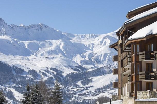 Calme et beauté avec retour skieur au pied des pistes de Valmorel