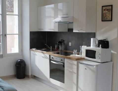 Location vacances La Roche-Posay -  Appartement - 2 personnes - Barbecue - Photo N° 1