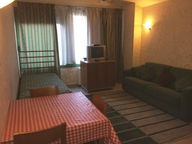 1 bedroom flat for 4 persons