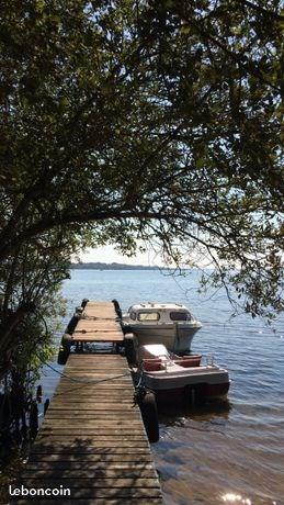 vue du lac latécoère et du ponton