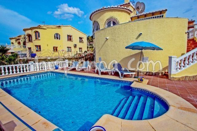 Location belle villa avec piscine privée pour 6 à Benitachell  helen