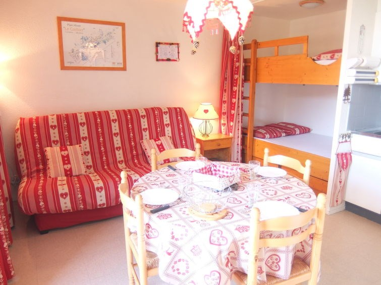 Appartement pour 1 personnes à Le Corbier