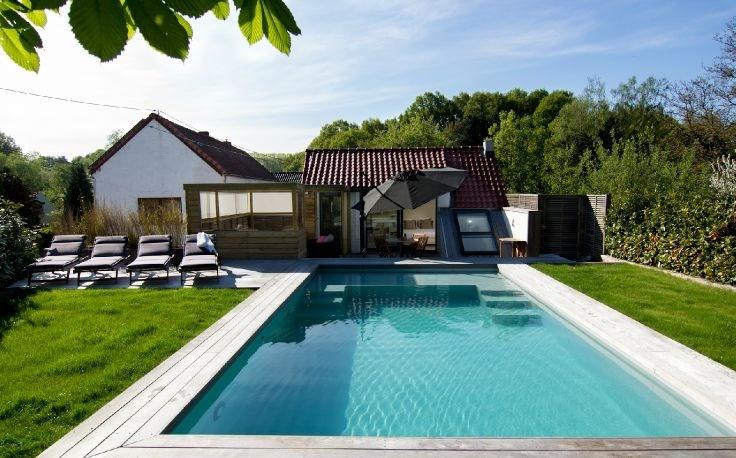 Duplex meublé avec piscine privée (Waterloo/Lasne)