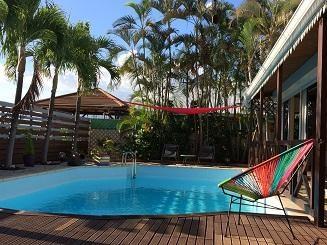 Vue Villa avec piscine
