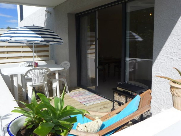 Location vacances Hendaye -  Appartement - 2 personnes - Barbecue - Photo N° 1