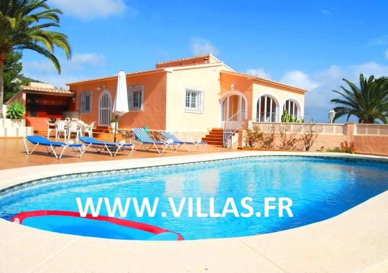 Holiday rentals Benissa - House - 6 persons - BBQ - Photo N° 1