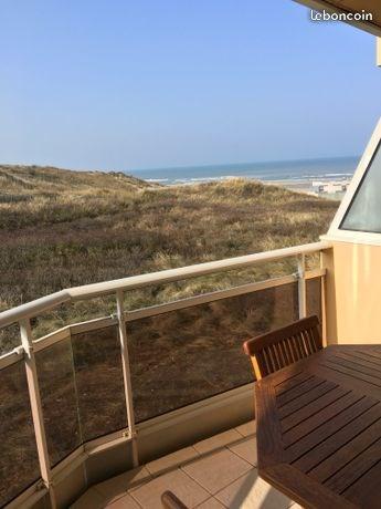 Superbe appartement à Merlimont-Plage  Vue mer et dunes