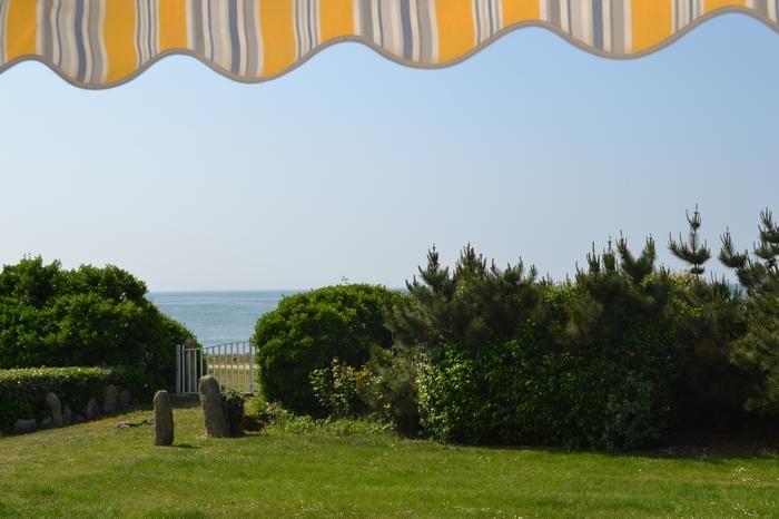 de la terrasse vue sur la mer